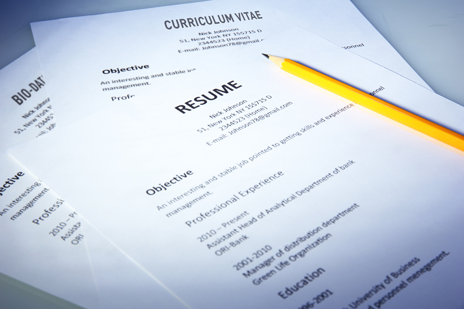Know The Real Difference Between a CV, Resume and a ...