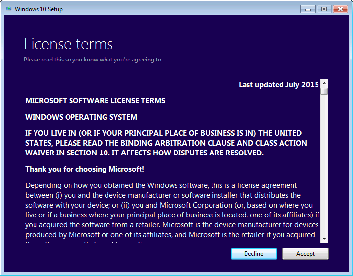 how to transfer windows 10 license to new owner